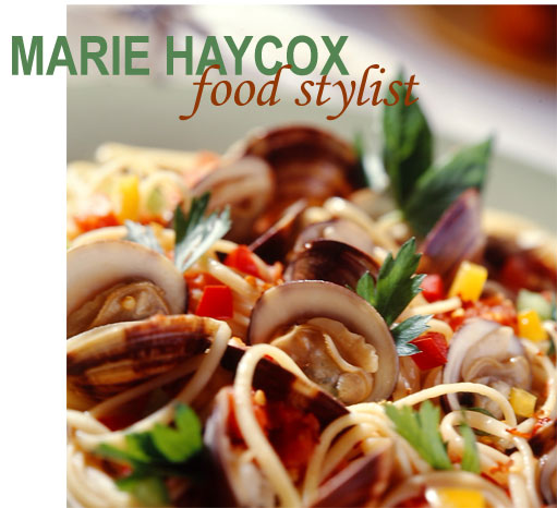 Marie Haycox food stylist